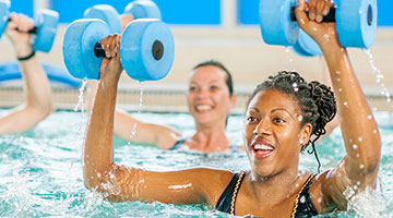 YMCA Water Group Exercise Class