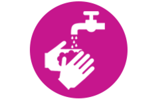 wash hands icon