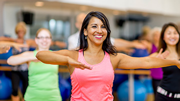 Enjoy Group Exercise classes at the YMCA of Middle TN
