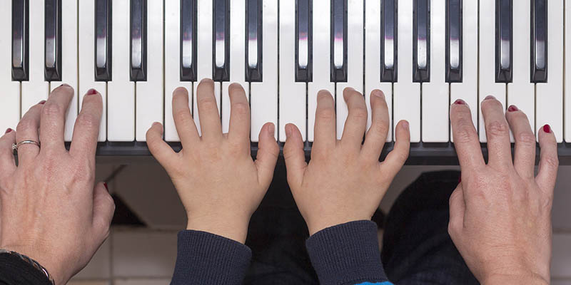 Piano lessons at the YMCA of Middle TN