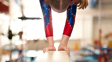 Youth Gymnastics at the YMCA of Middle TN
