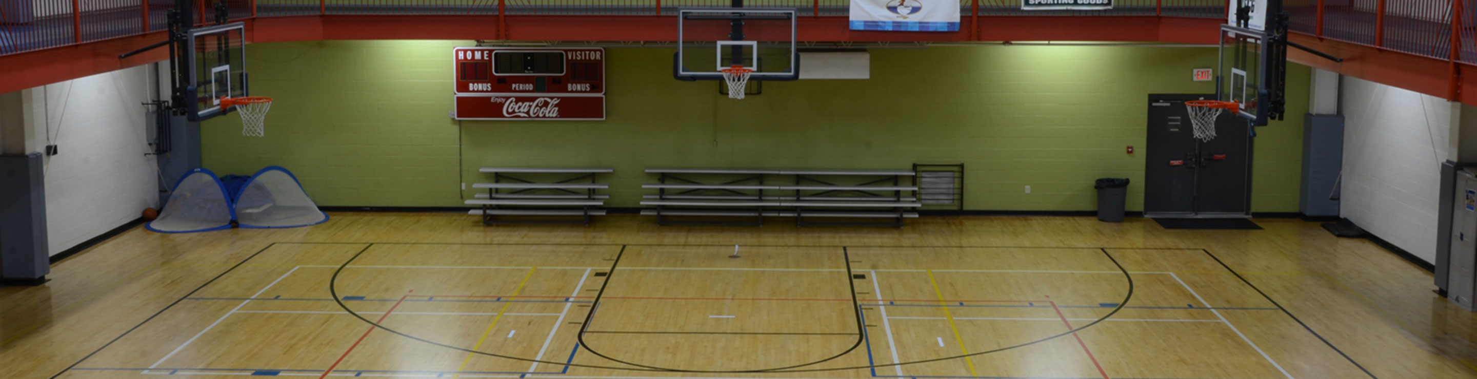 Robertson County Family YMCA Basketball Gym